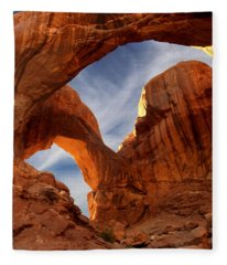 Double Arch - Utah Fleece Blanket