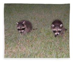 Double Trouble Fleece Blanket