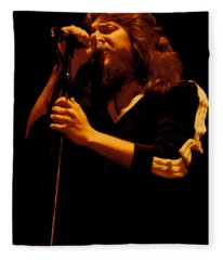 Doug Gray Of The Marshall Tucker Band At The Cow Palace Fleece Blanket