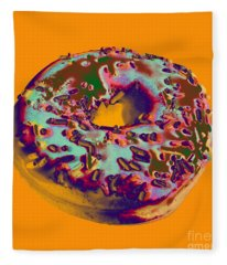 Doughnut Fleece Blanket
