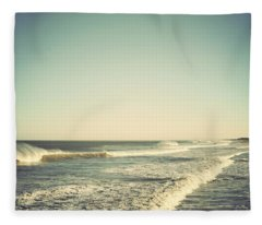 Down The Shore - Seaside Heights Jersey Shore Vintage Fleece Blanket