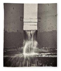 Downspout Fleece Blanket