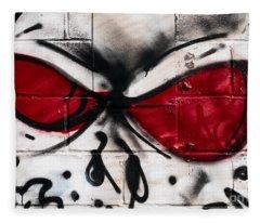 Street Art Fleece Blanket