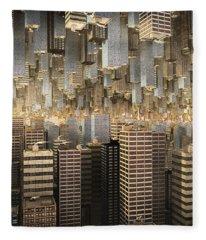 Downtown/uptown Fleece Blanket