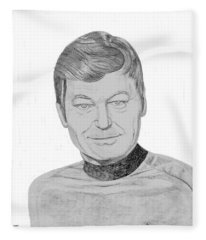 Dr. Leonard Mccoy Fleece Blanket