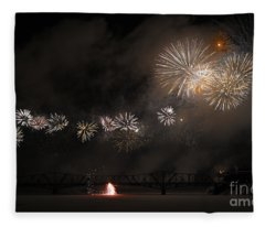 Dragon Of Light.. Fleece Blanket