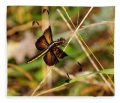 Dragonfly Fleece Blanket