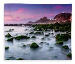 Dream Beach Fleece Blanket