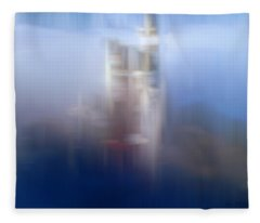 Dream Castle I Fleece Blanket