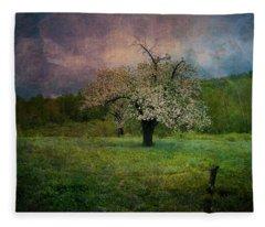 Dream Of Spring Fleece Blanket
