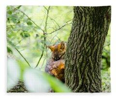 Dreaming Above All Fleece Blanket