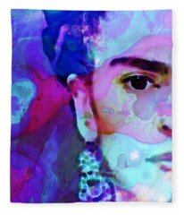 Dreaming Of Frida - Art By Sharon Cummings Fleece Blanket