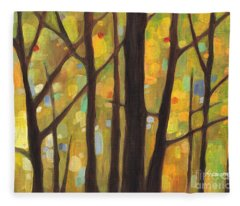 Dreaming Trees 1 Fleece Blanket