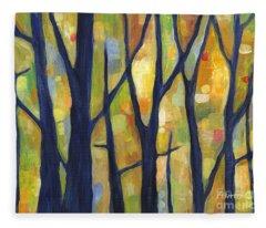Dreaming Trees 2 Fleece Blanket