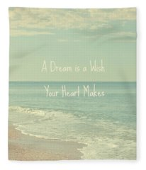 Dreams And Wishes Fleece Blanket