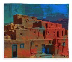 Dreams Of Taos Fleece Blanket
