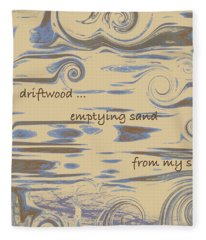 Driftwood Haiga Fleece Blanket
