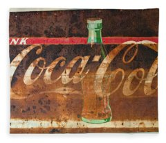 Drink Coca-cola Fleece Blanket