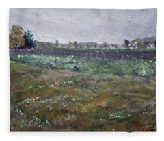 Drizzly Day By Shaw Barn  Fleece Blanket
