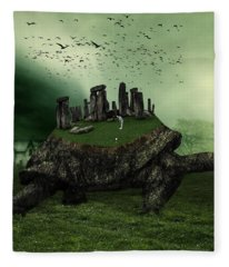Druid Golf Fleece Blanket
