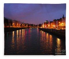 Dublin Nights Fleece Blanket