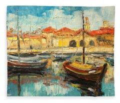 Dubrovnik - Croatia Fleece Blanket