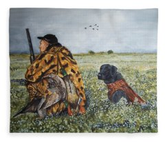 Duck Hunters Fleece Blanket