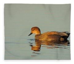 Duck Reflected Fleece Blanket