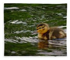 Duckling Fleece Blanket