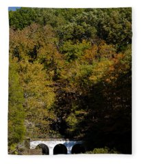 Dunbar Cave And Swan Lake Fleece Blanket
