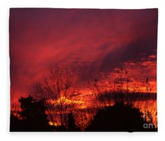 Dundee Sunset Fleece Blanket