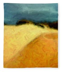Dunes 1 Fleece Blanket