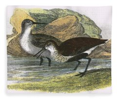 Dunlin Fleece Blanket