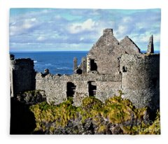 Dunluce Castle Fleece Blanket