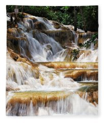 Dunn Falls _ Fleece Blanket