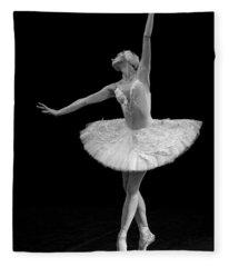 Dying Swan 9. Fleece Blanket
