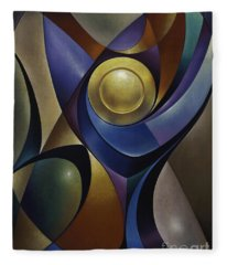 Dynamic Chalice Fleece Blanket