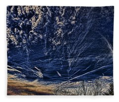 Dynamic Skyscape Fleece Blanket