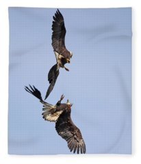 Eagle Ballet Fleece Blanket