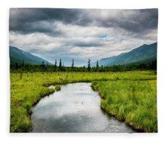 Eagle River Nature Center Fleece Blanket