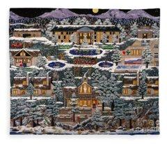 Eaglecrest Resort Fleece Blanket