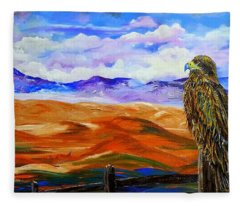 Eagles Watch Fleece Blanket