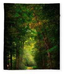 Early  Mist  Fleece Blanket