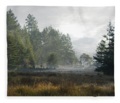 Early Morning Mist Fleece Blanket