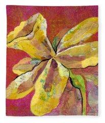 Early Spring II Daffodil Series Fleece Blanket