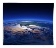 Saudi Arabia Fleece Blankets