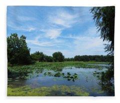 East Harbor State Park - Scenic Overlook Fleece Blanket