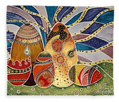 Alleluja Paintings Fleece Blankets