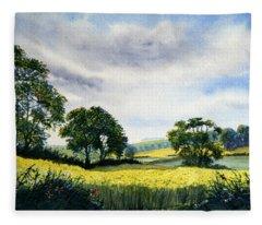 Eastfields From Woldgate Fleece Blanket