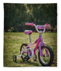 Echoes Of Childhood Fleece Blanket